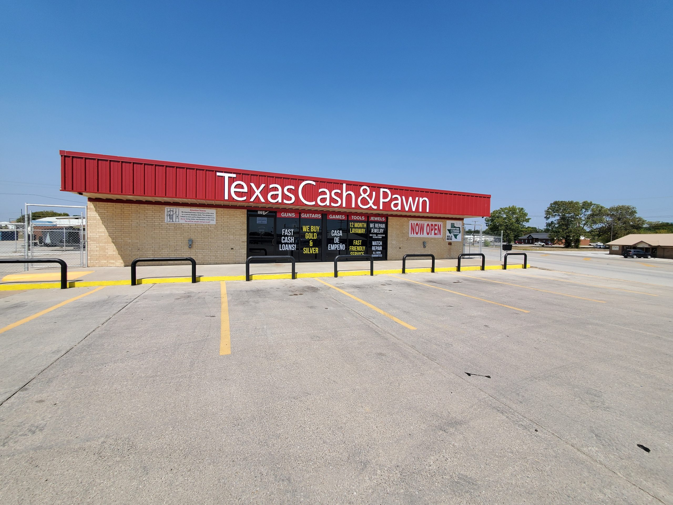 Texas Cash and Pawn #3 | Bridgeport, Texas